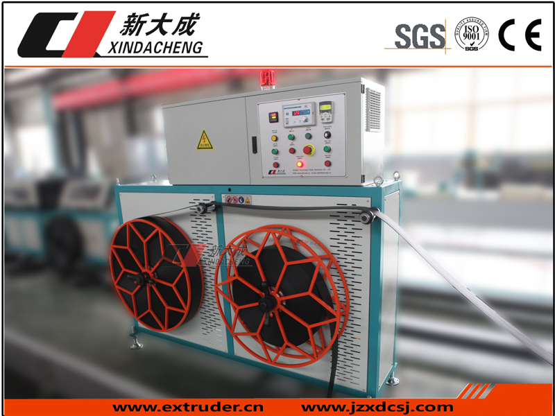 xindacheng | Fiber belt equipment is being exported.