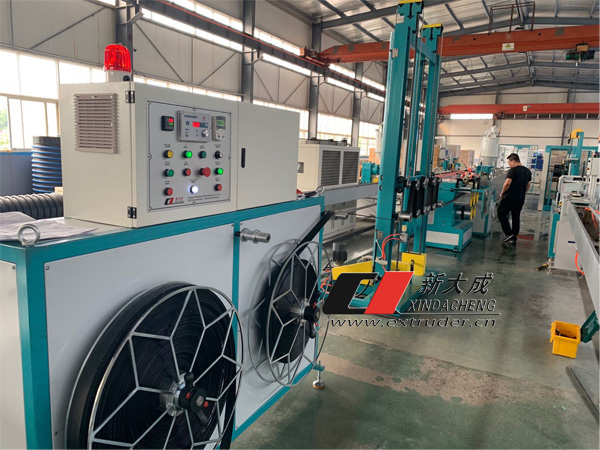 XINDACHENG | fiber belt production line is in delivery