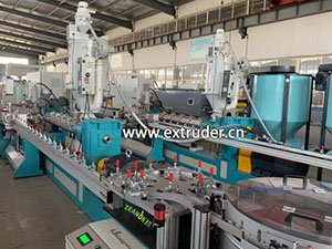 XINDACHENG Irrigation pipe production line container export