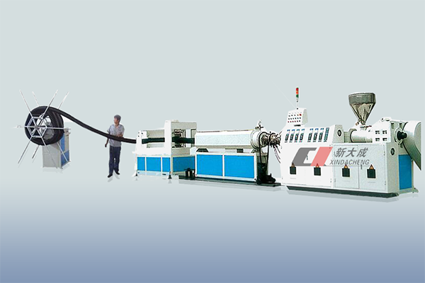 PE carbon Spiral pipe production line Featured Image