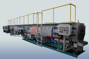 PE pipe production line