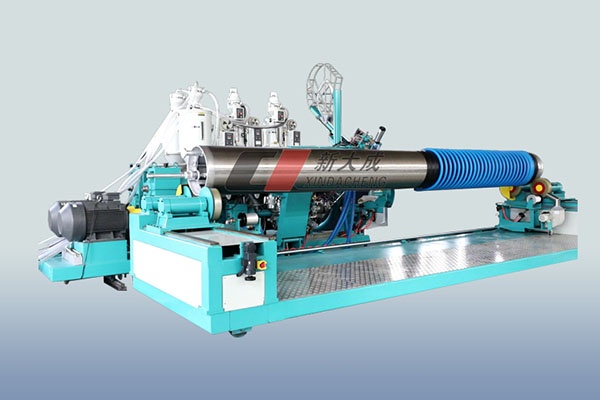 Krah Pipe Production Line  (Large Caliber PE Winding Structural Wall Pipe Production Line) Featured Image