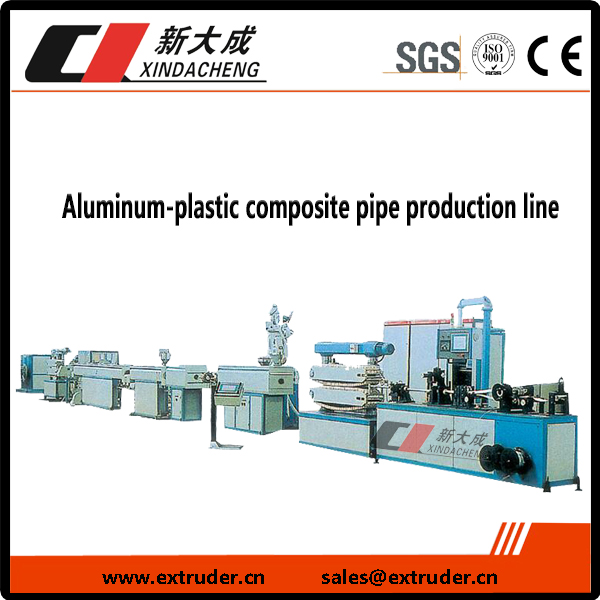 Aluminum-plastik nga composite pipe produksyon linya Featured Image