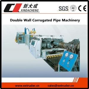 Double Wall Aaltopahvi Pipe Machinery