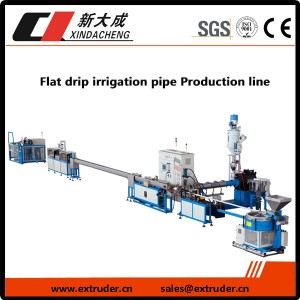maturuturu Flat aho irrigation pipe Production
