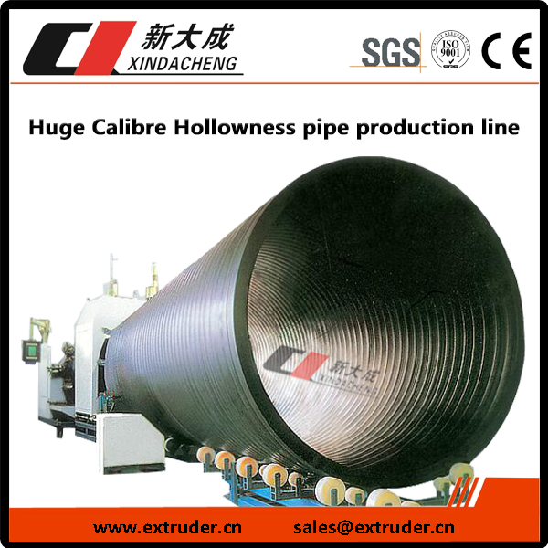 Huge Calibre Hollowness pipe production line Featured Image