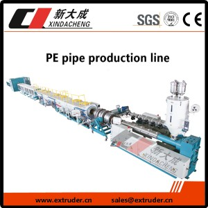 PE raina pipe production