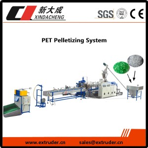 PET pelletizing System