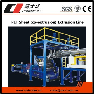 PET Sheet (co-extrusion) Extrusion Line
