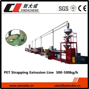 PET / PP Produksi strapping line (model Heavy)