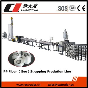 PP Fibre (Geo) strapping Production tsipika