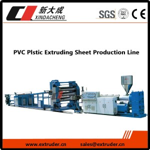 PVC Plstic экструзия Sheet Production Line