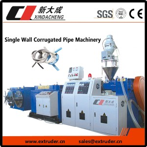Single Wall Corrugated Pipe Machinery