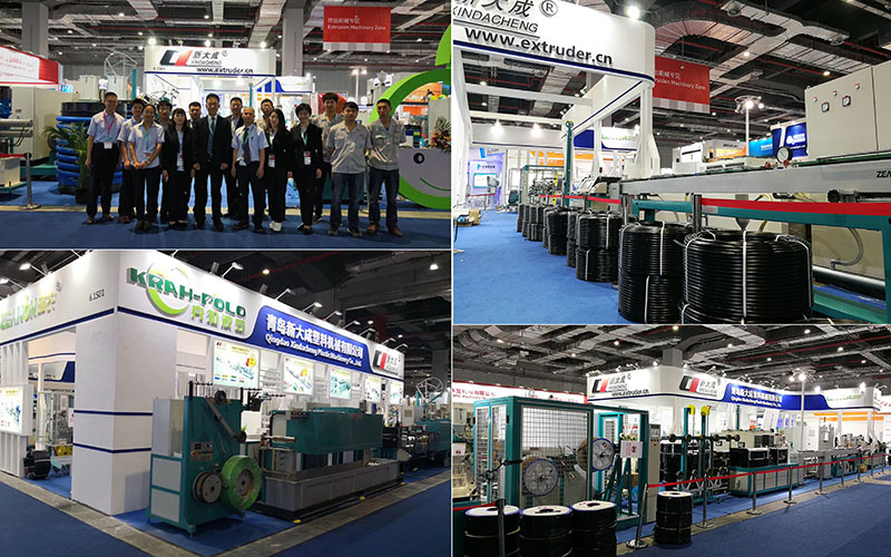 The successful in CHINAPLAS 2018, get purchase orders from European and Asia.