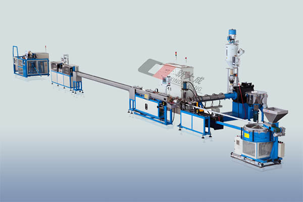 Flat drip irrigation pipe Production line Featured Image