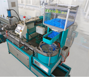 High speed round dripper irrigation pipe production line