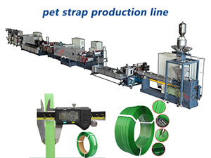 Product's upgrade – PET straps production line